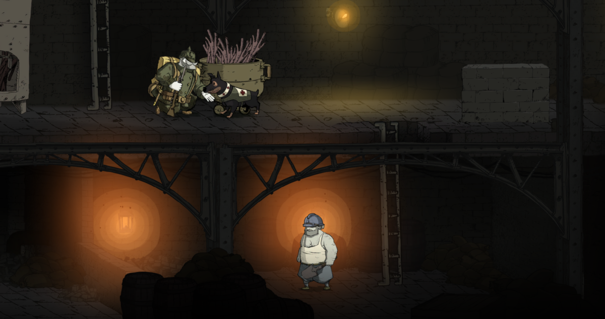 Emile sneaks into the depths of Douaumont Fort in Valiant Hearts.