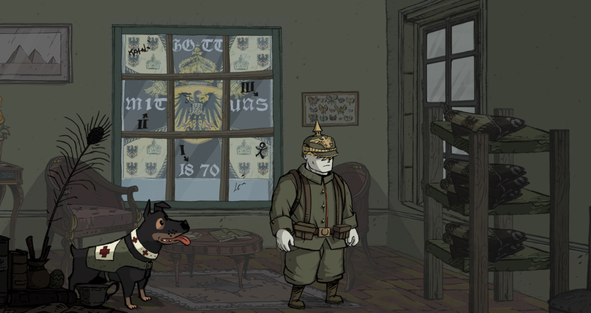 Karl dons a German uniform in Valiant Hearts.