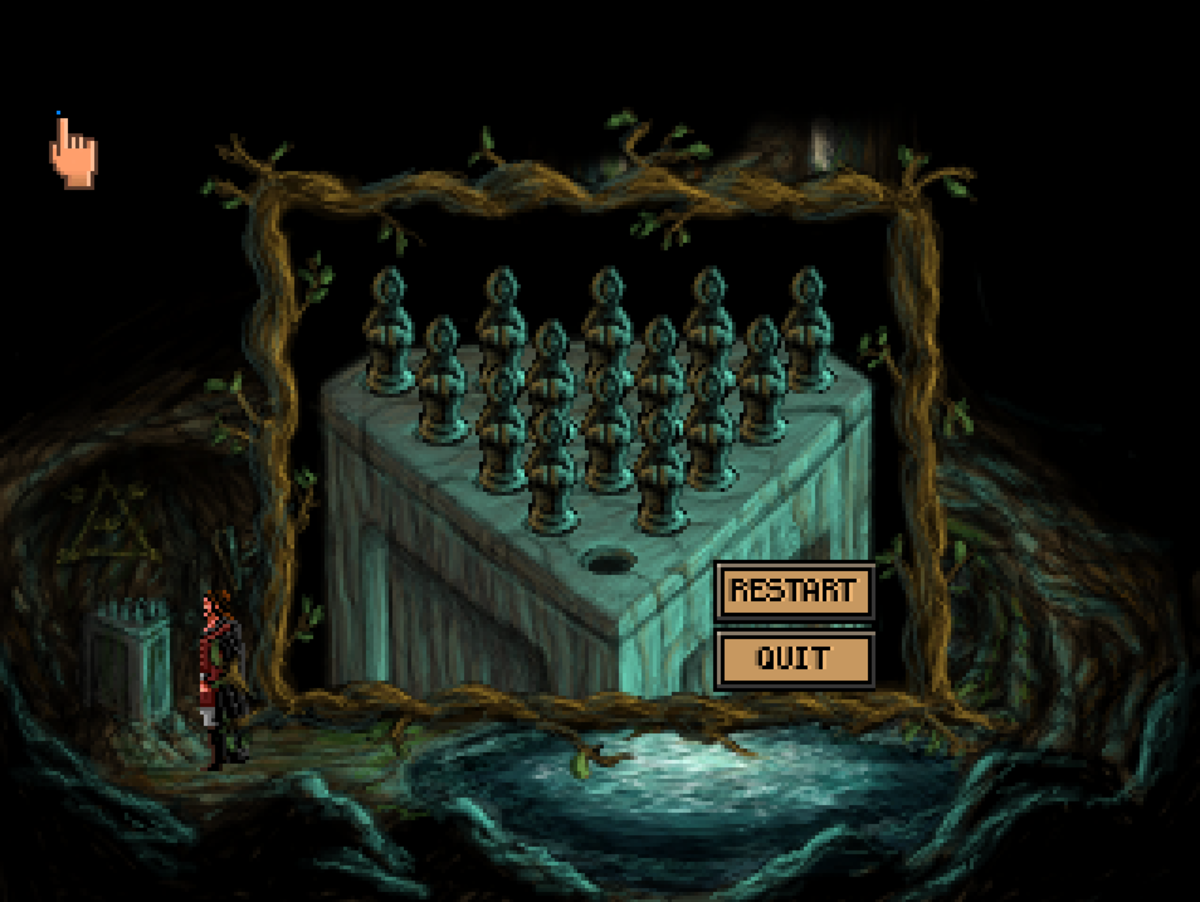 The Puzzle Board challenge in Quest for Infamy.