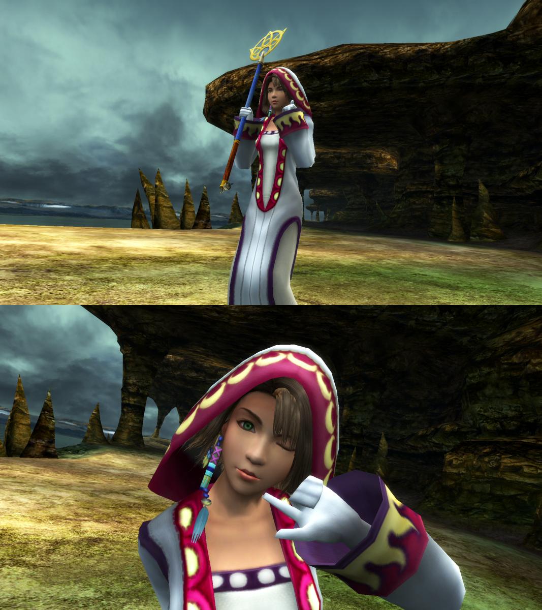 Final Fantasy X-2 HD Remaster: The Best Dresspheres for Yuna, Rikku