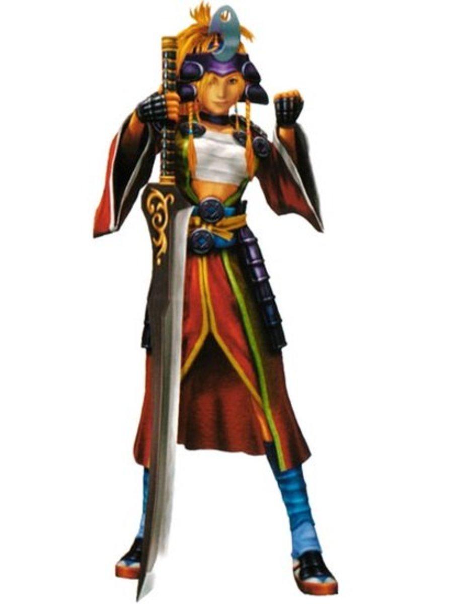 Rikku as a Samurai