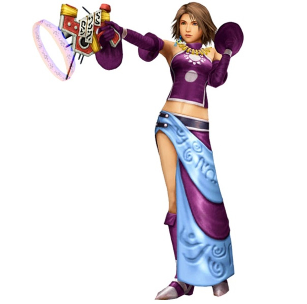 Yuna as a Gun Mage