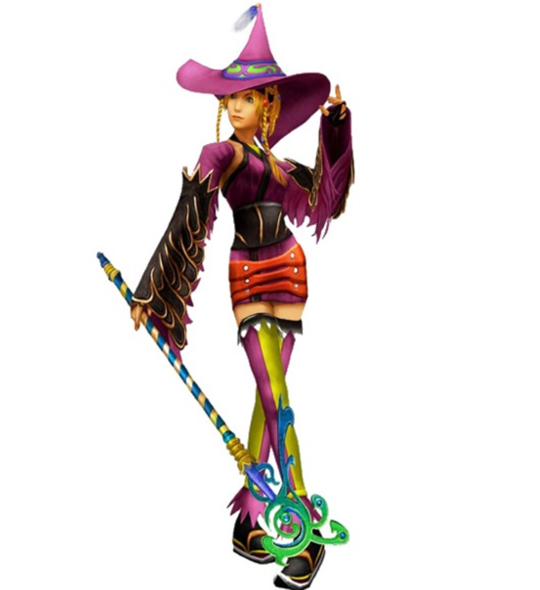 Rikku as a Black Mage