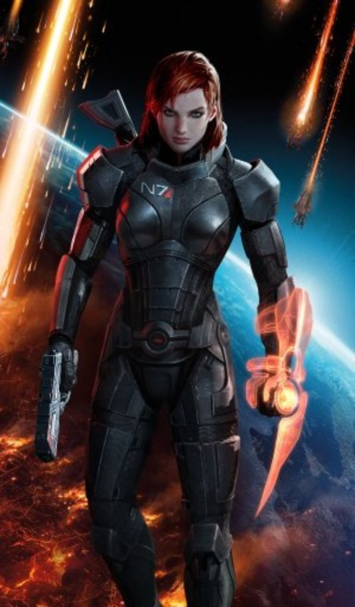 "Shepard from ""Mass Effect"" is one of the most popular female protagonists in the industry."