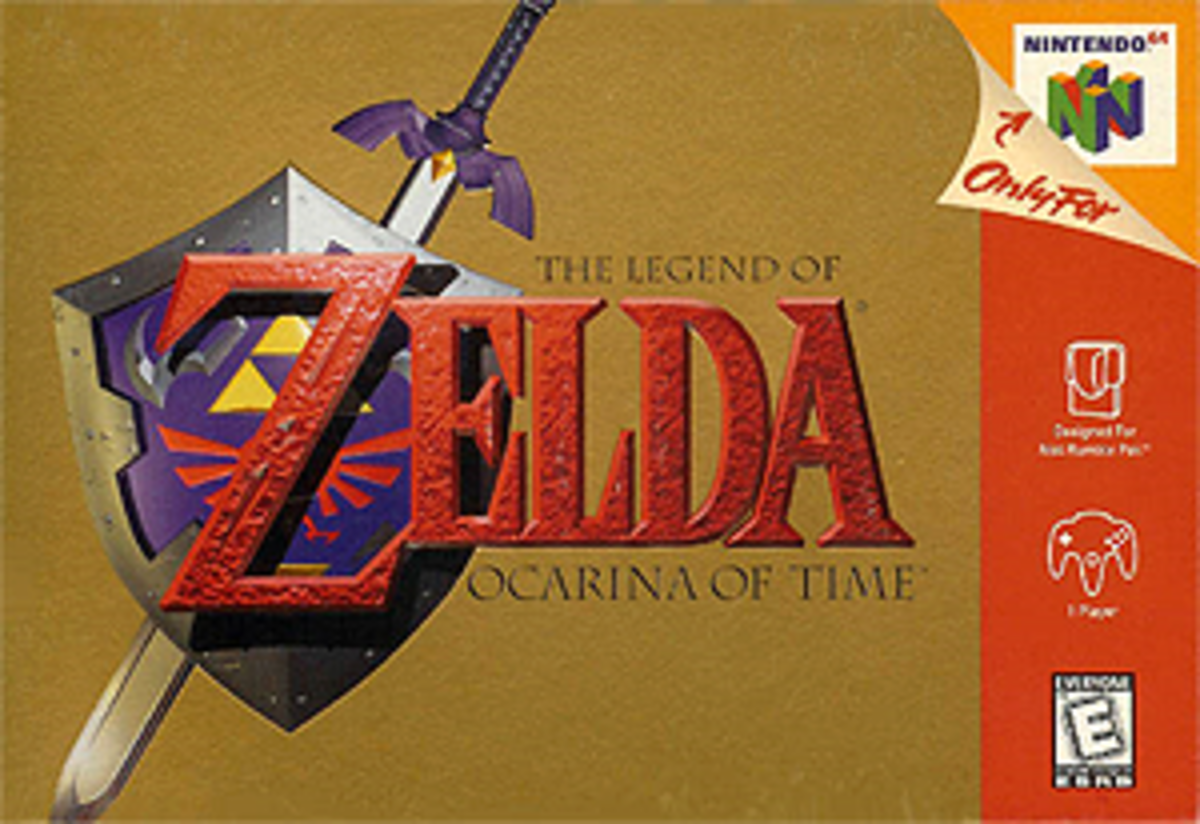 The Legend of Zelda: Ocarina of Time (via Wikipedia)