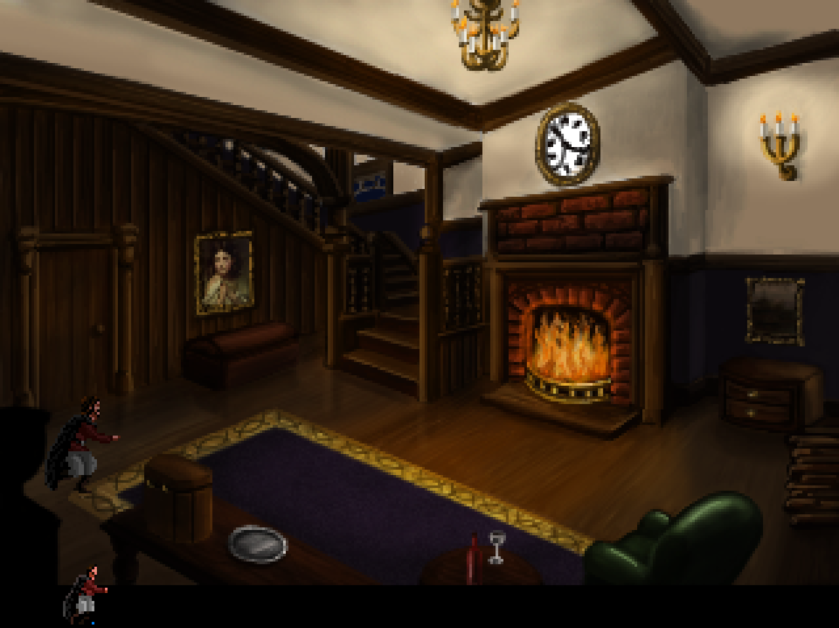 """Roehm steals from one of Volksville's houses in """"Quest for Infamy."""""""