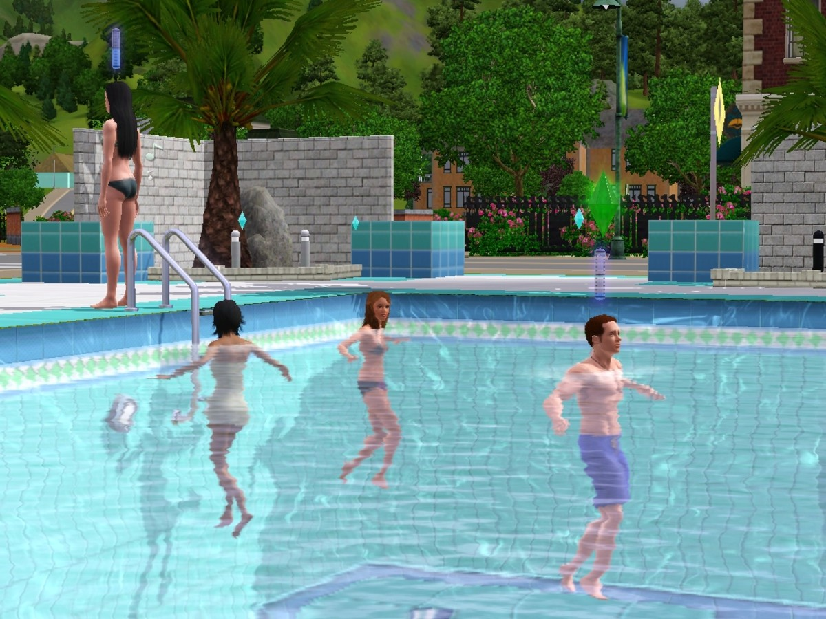 Wall off your pool to drown your Sims.