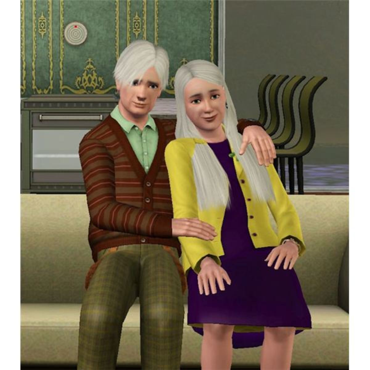 If you want your Sims to die—but also live a long, possibly happy life—old age is the answer!
