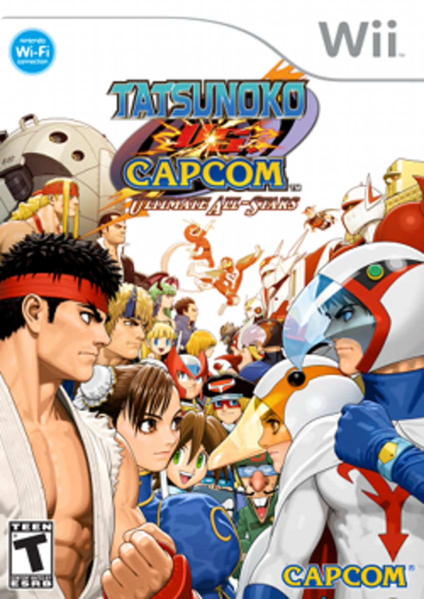 Tatsunoko vs. Capcom Box Art