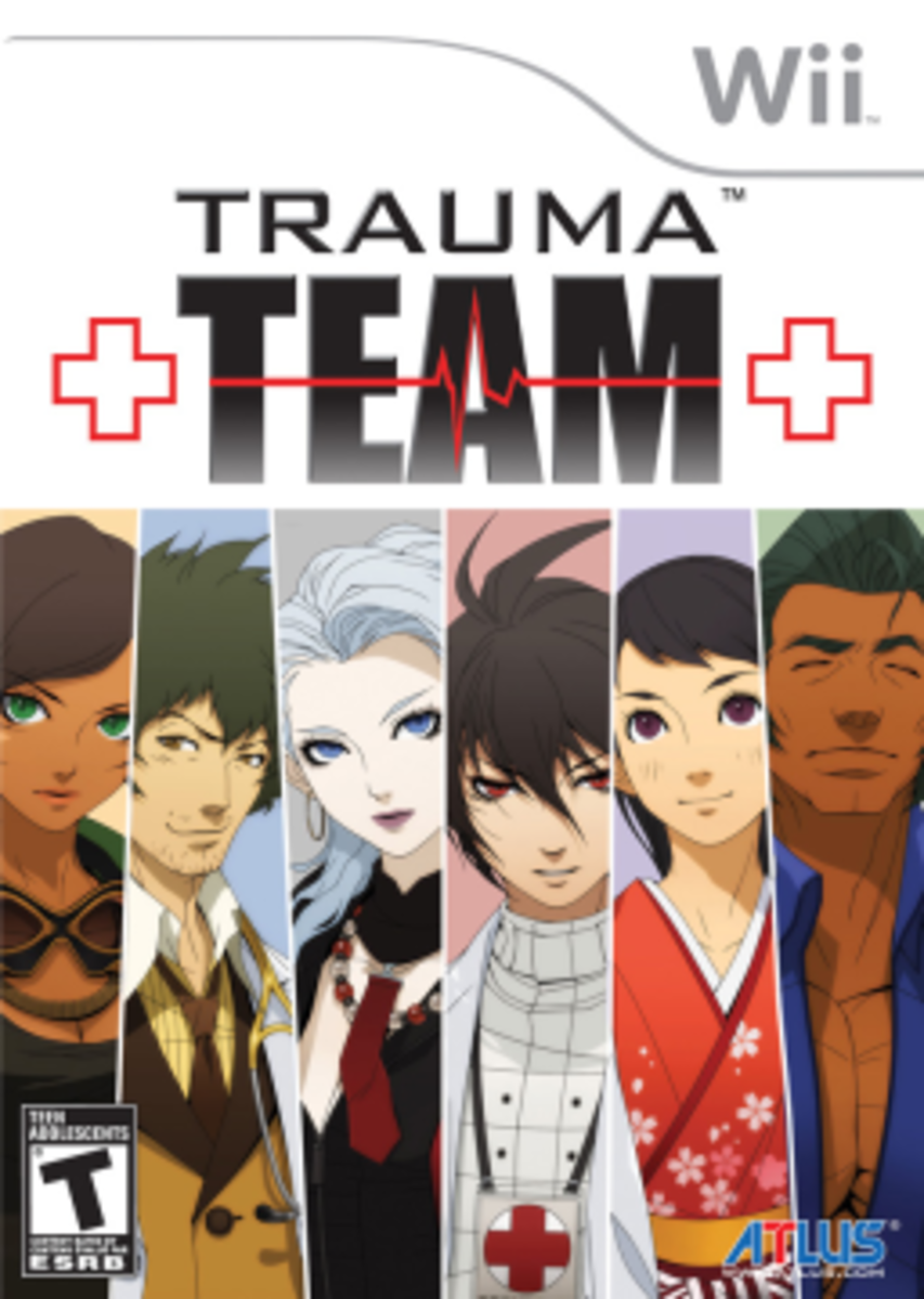 Trauma Team Box Art