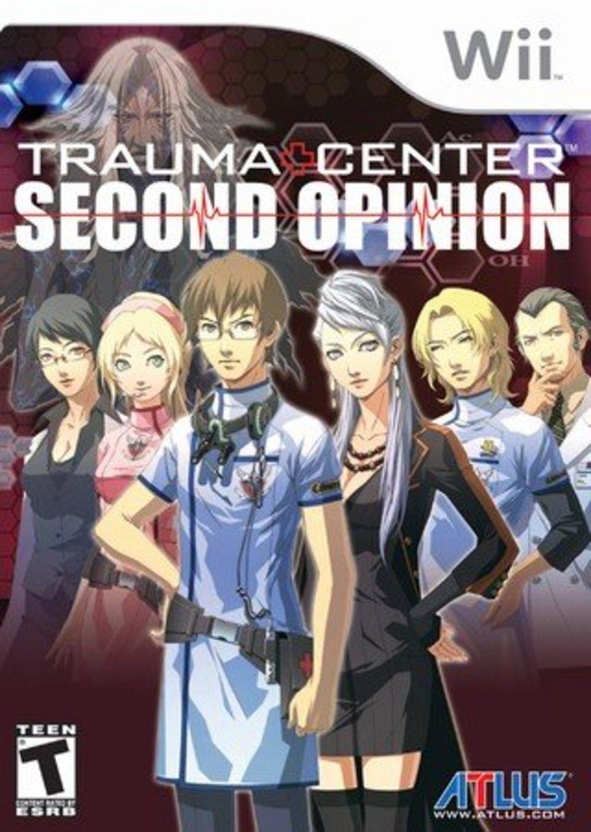 Trauma Center: Second Opinion Box Art