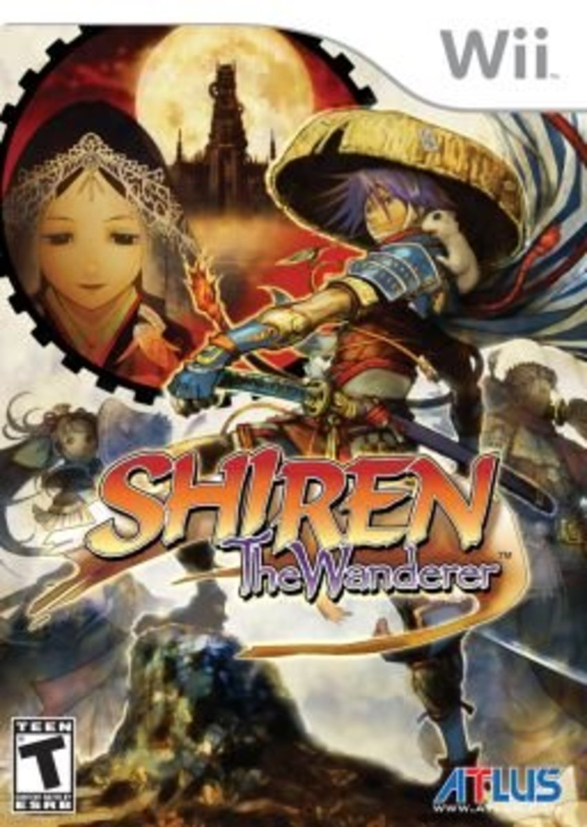 Shiren the Wanderer Box Art