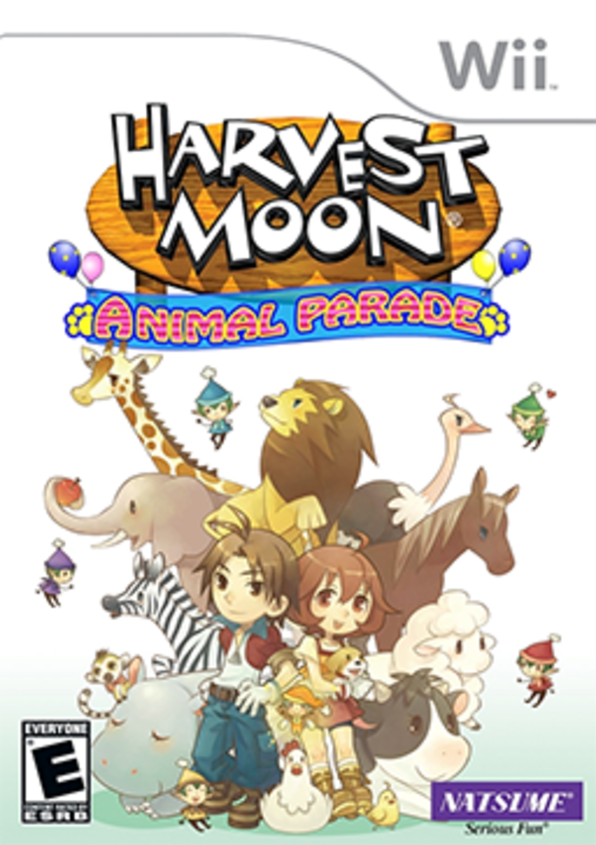 Harvest Moon: Animal Parade Box Art