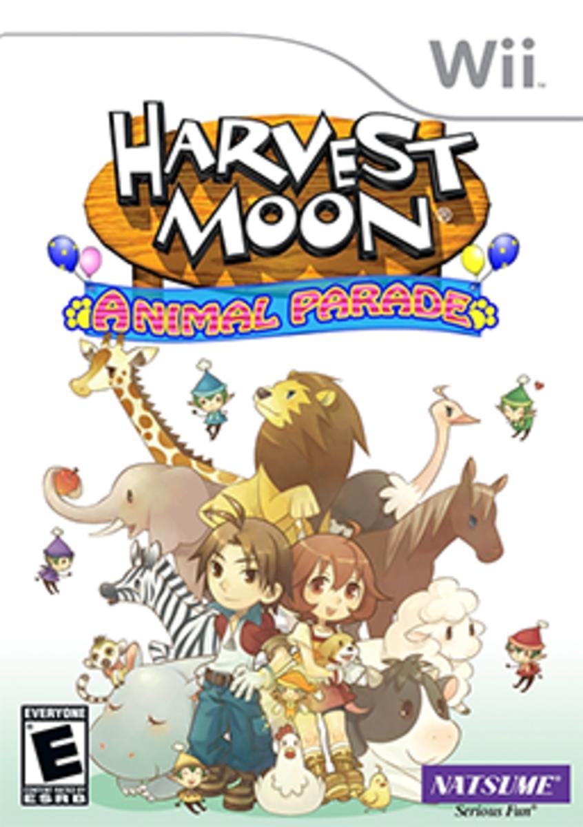 Harvest Moon: Animal Parade Box Art