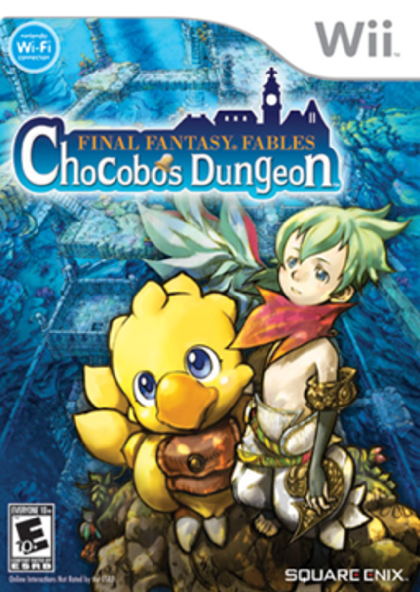 Final Fantasy Fables: Chocobo's Dungeon Cover Art
