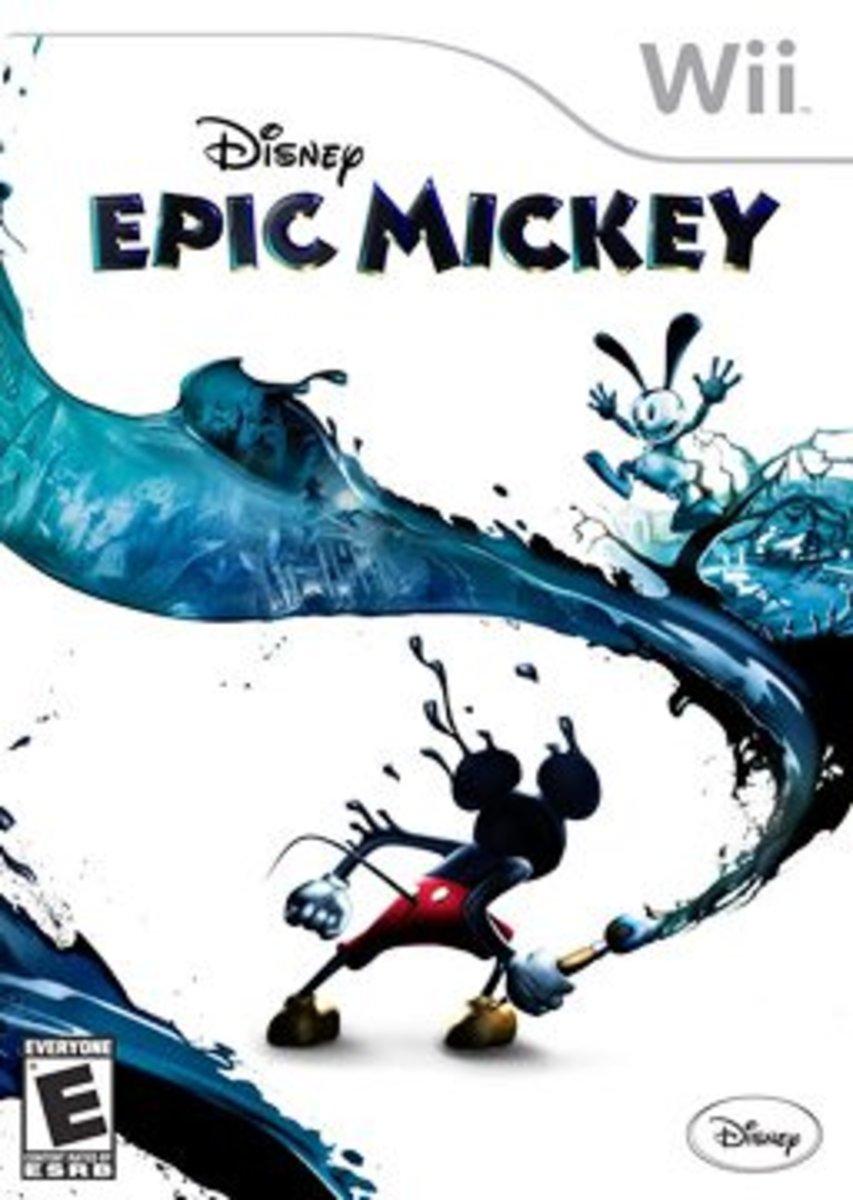 Epic Mickey Box Art
