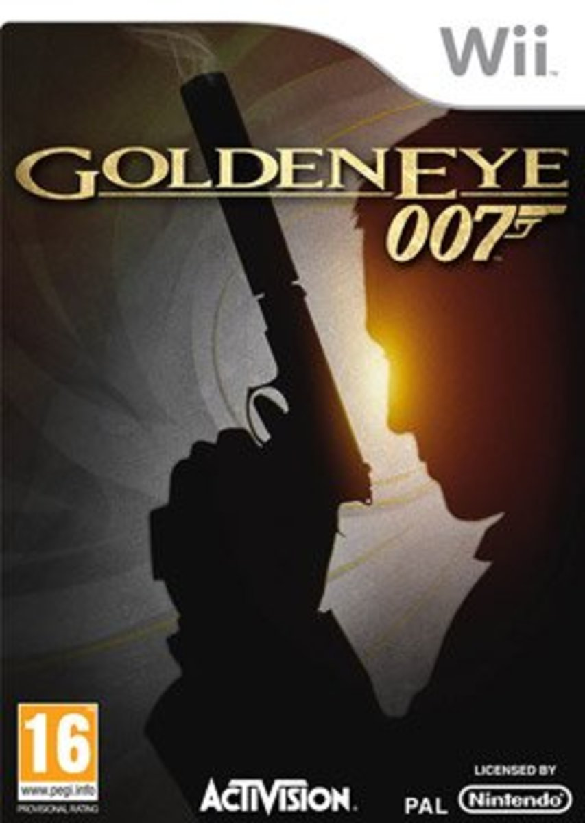Goldeneye 007 Remake Box Art