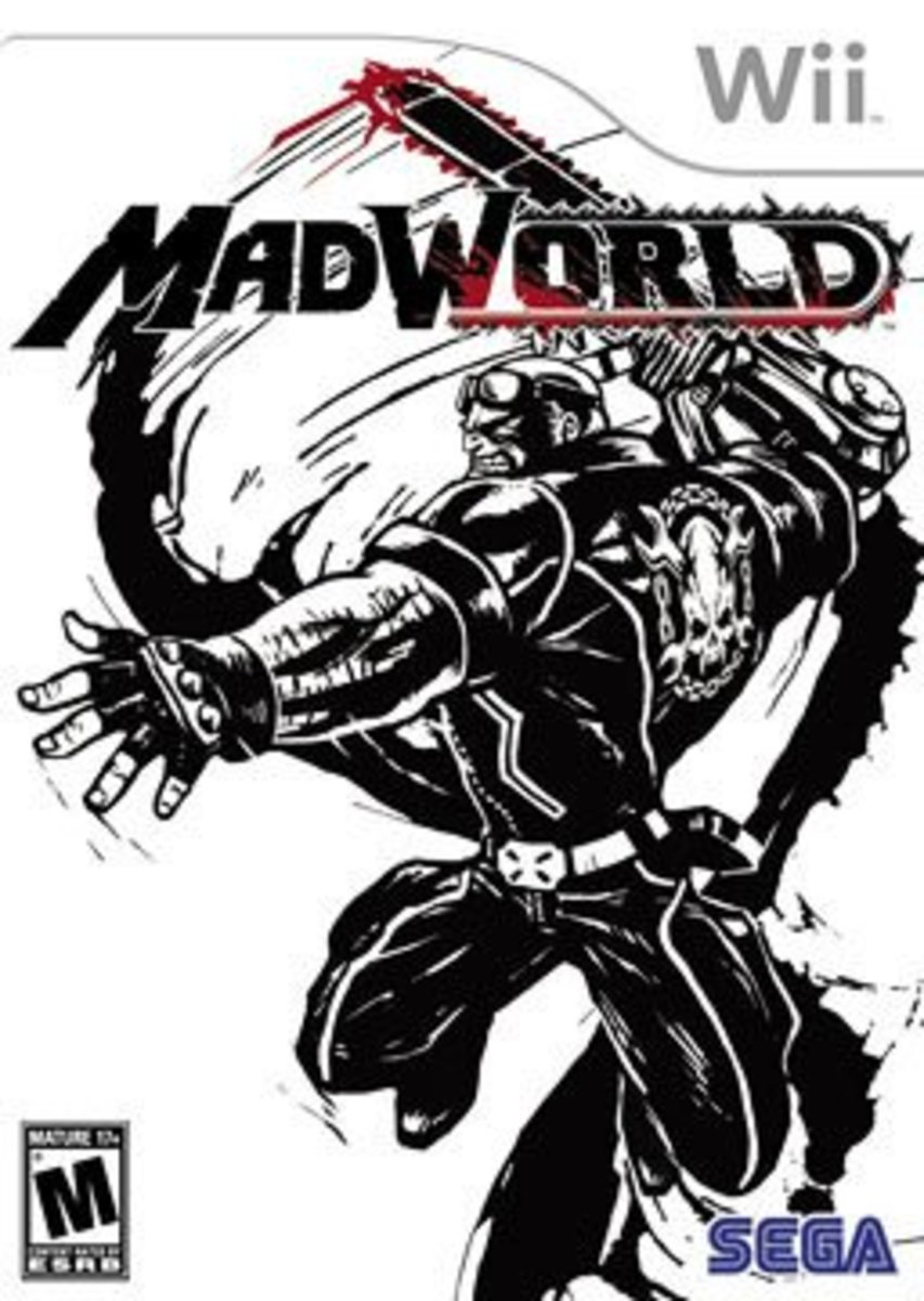 MadWorld Box Art