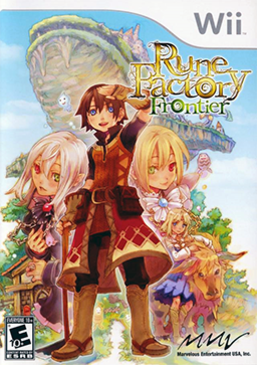 Rune Factory Frontier Cover Art