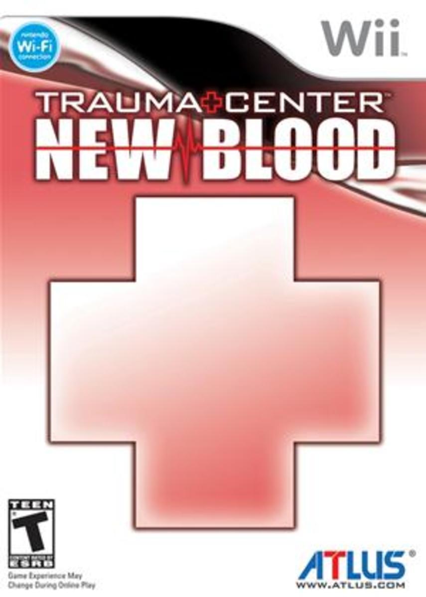 Trauma Center: New Blood Box Art