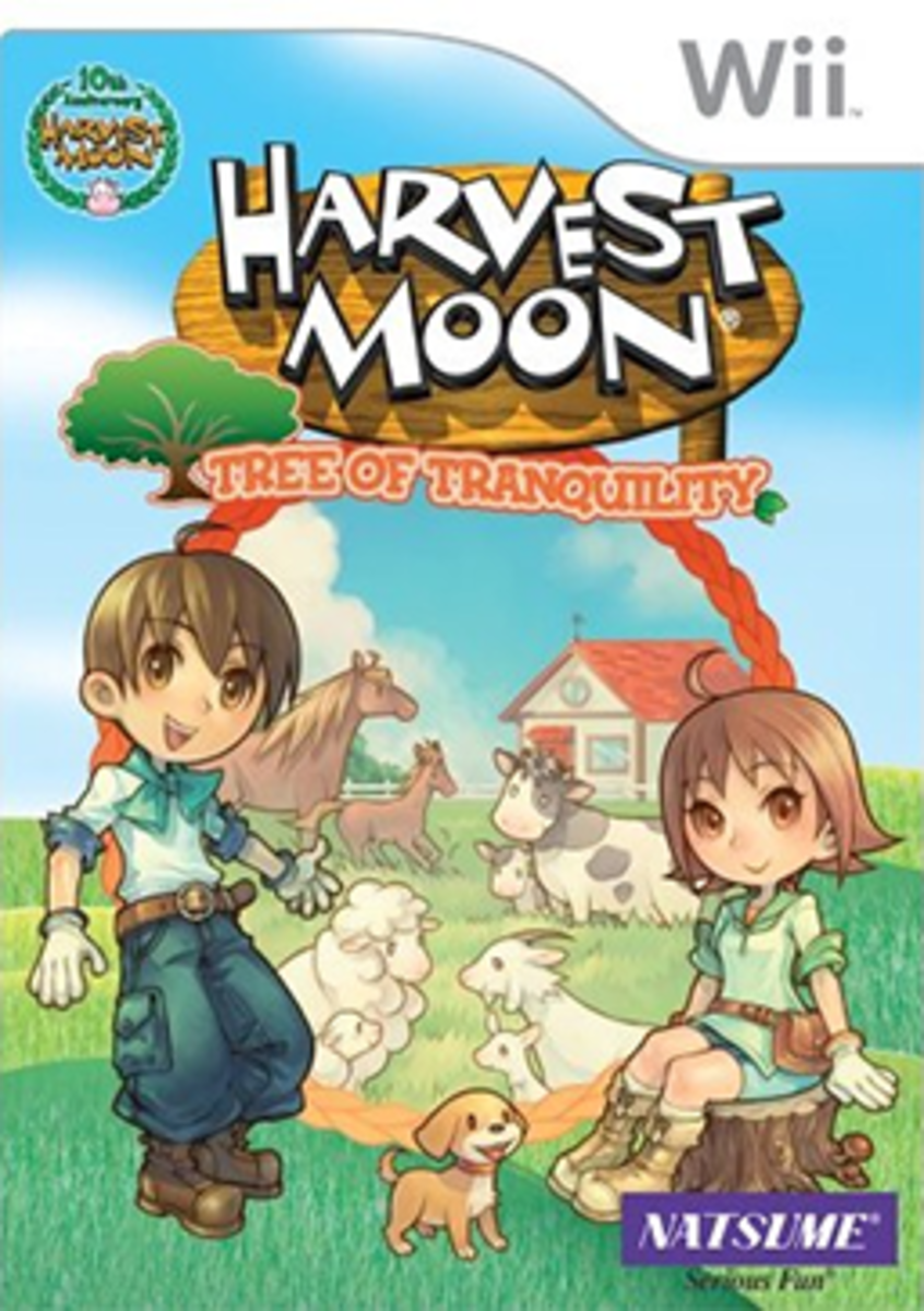 Harvest Moon: Tree of Tranquility Box Art