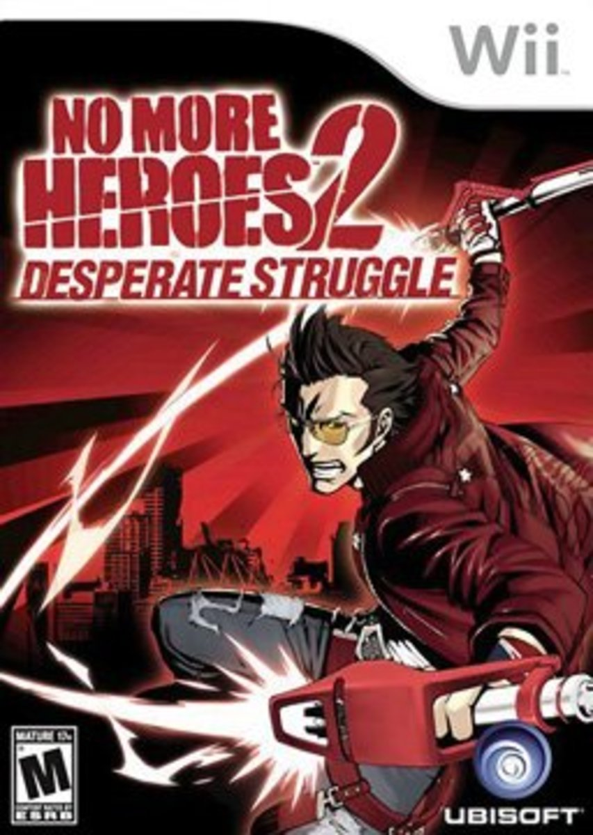 No More Heroes 2 Box Art