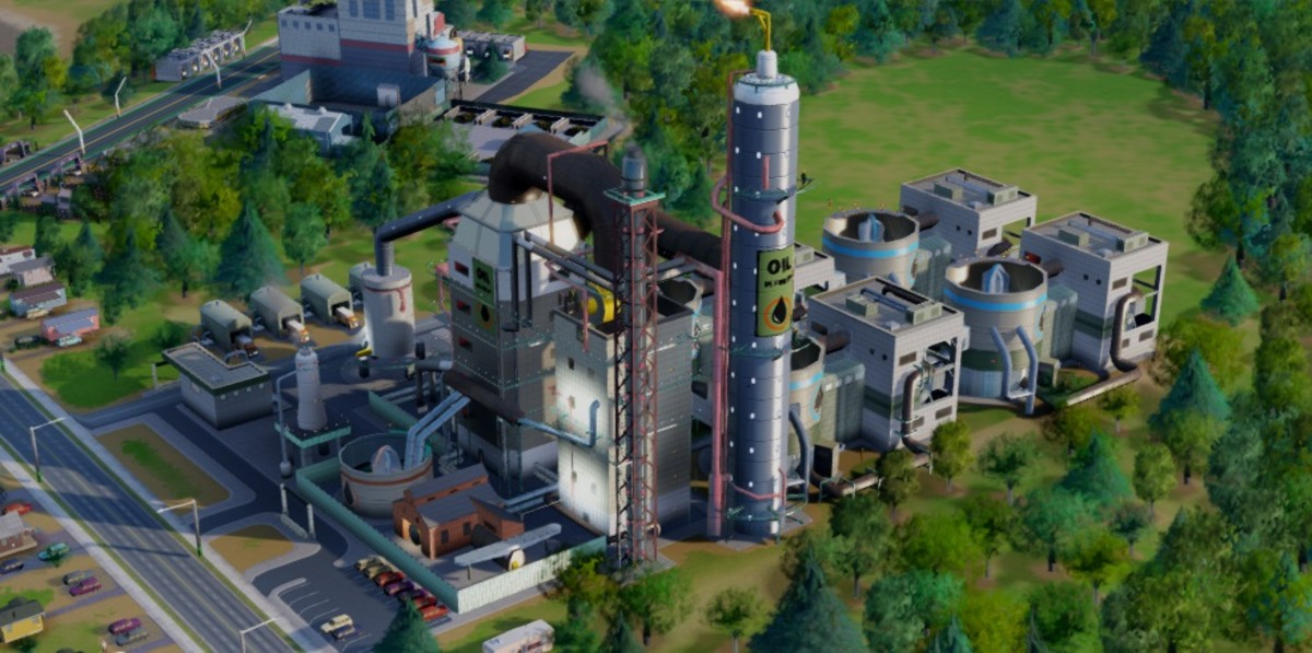 The Oil Refinery allows you to access Fuel and Plastic which is much more profitable.