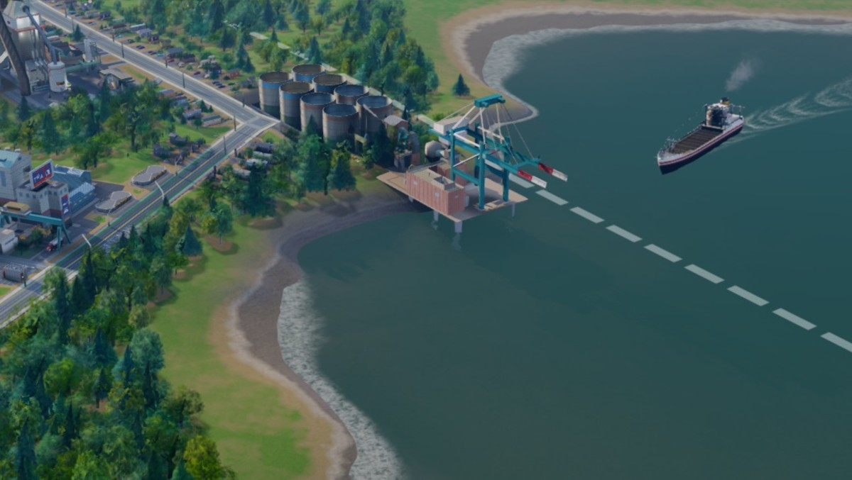 You can ship a drastic amount of Fuel and Plastic with a ship.