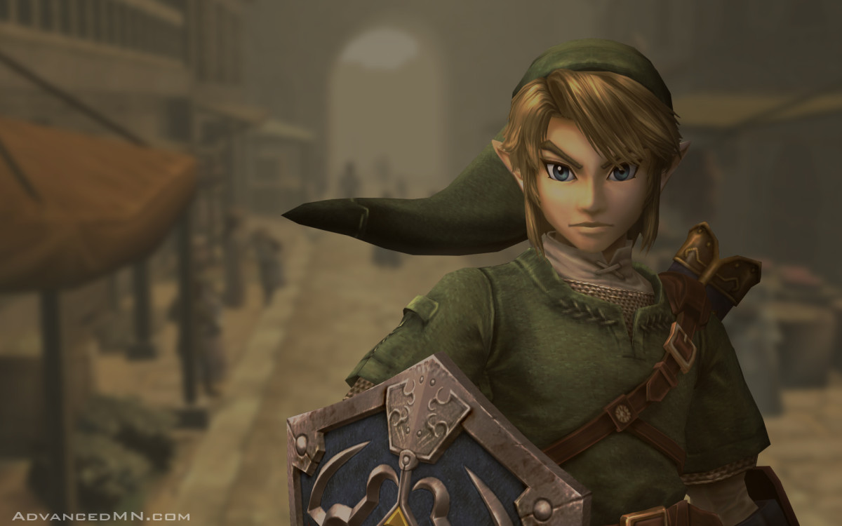 "Link in ""Twilight Princess"""