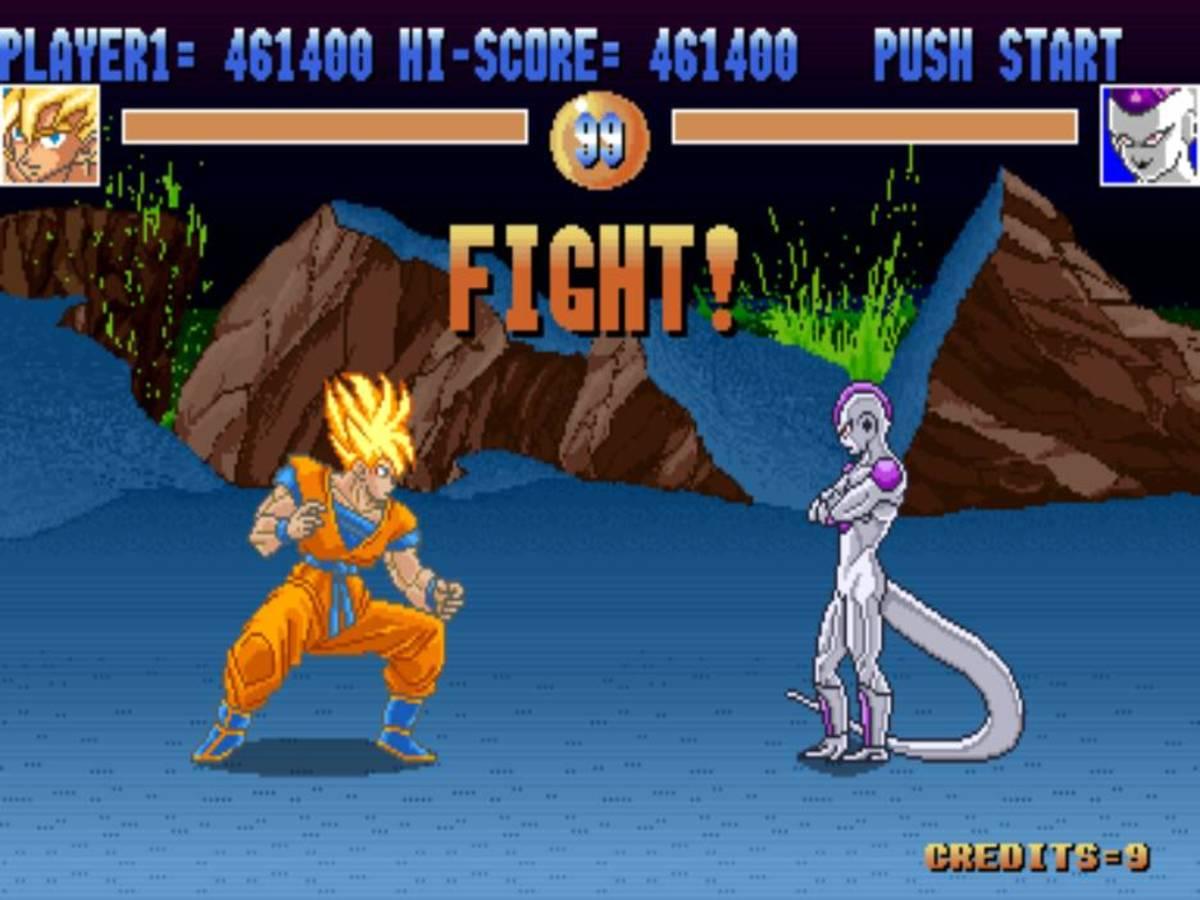 Goku vs. Frieza, 1993 Dragon Ball game