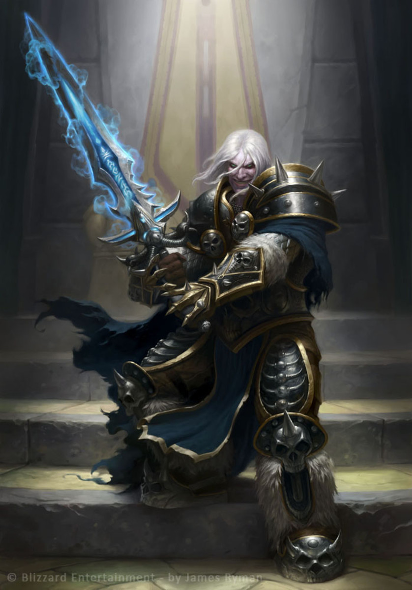 Artist's adaptation of Arthas Menethil