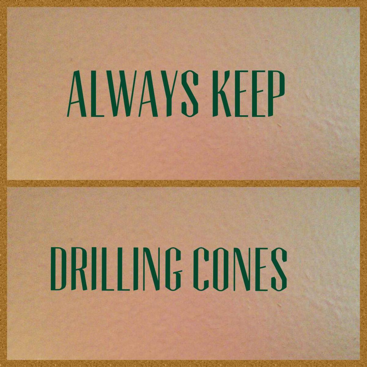 Drilling cones come in event chests and can be bought in n the nick shop. Never discard them!
