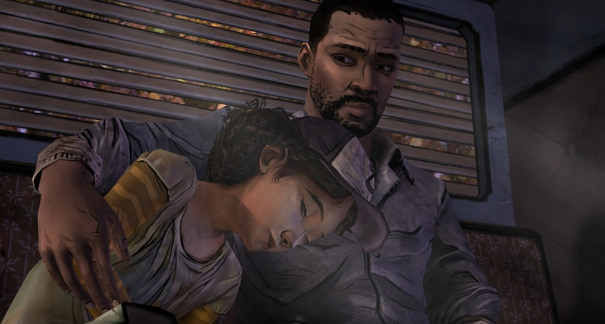 The relationship between Lee and Clementine is a big part of the reason the story is so incredible.