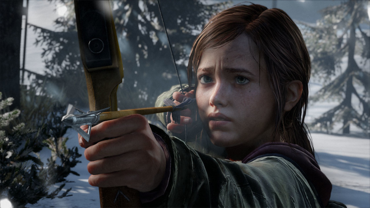 Ellie is a compelling character