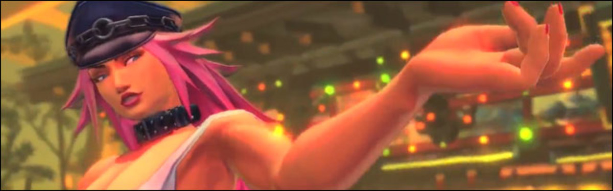 "Poison from ""Ultra Street Fighter 4"""
