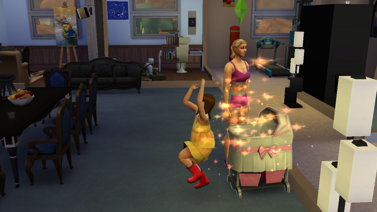 Skipping the toddler stage takes a bit of magic