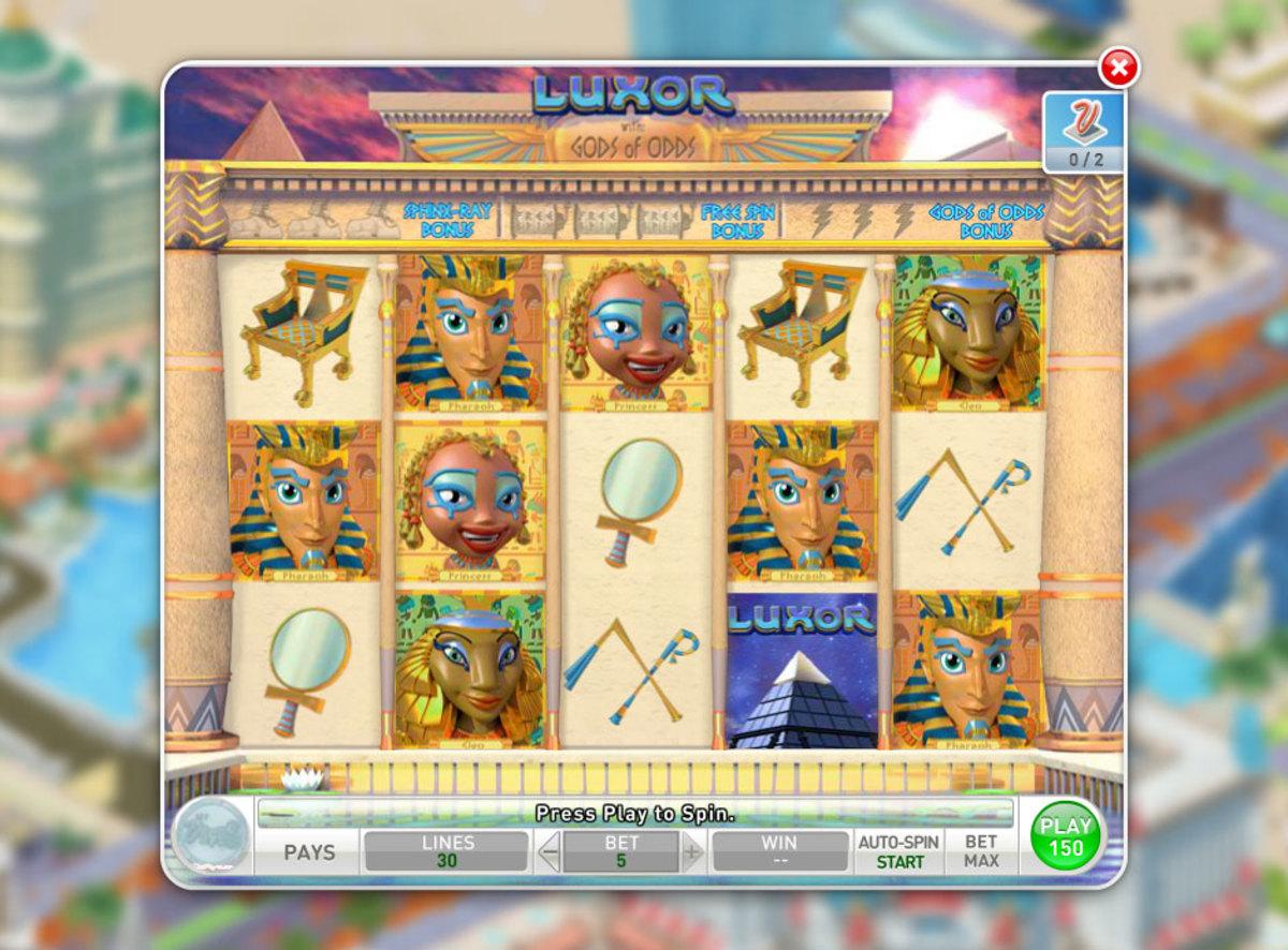 MyVegas Slots Mobile Luxor