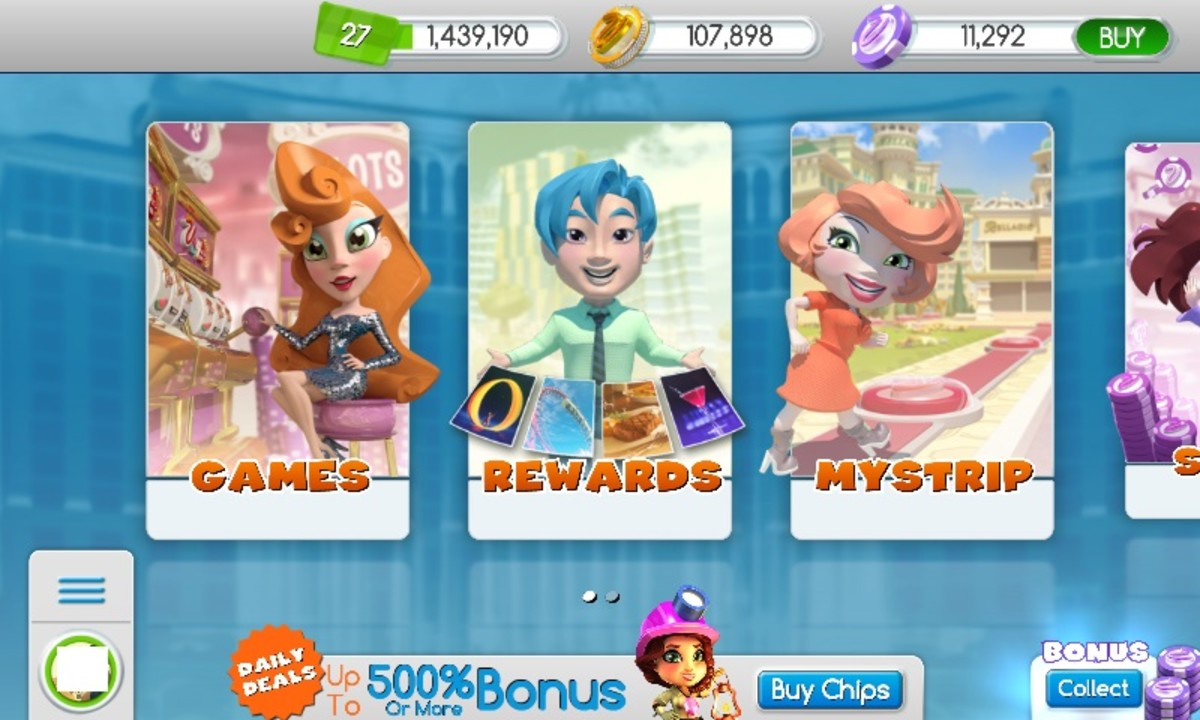 MyVegas Slots Mobile Screen