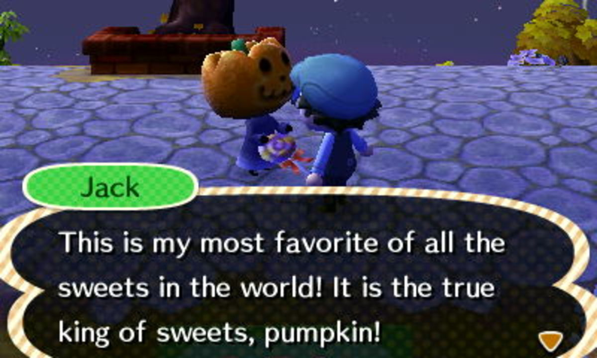 Once you find Jack, you can trade candy and lollypops for furniture!