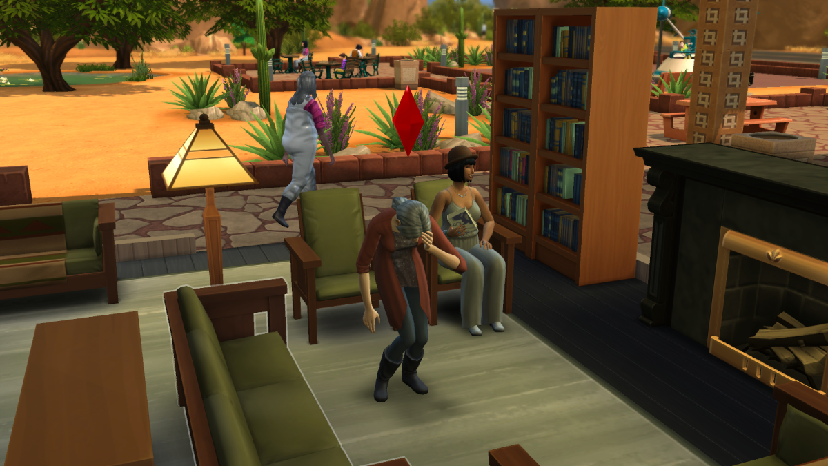 Expose your Sims to too much embarrassment and they may keel over just to escape an awkward moment, never to move again.