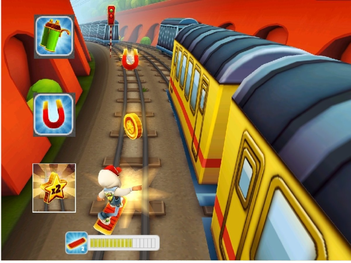 Most important powerups in Subway Surfers