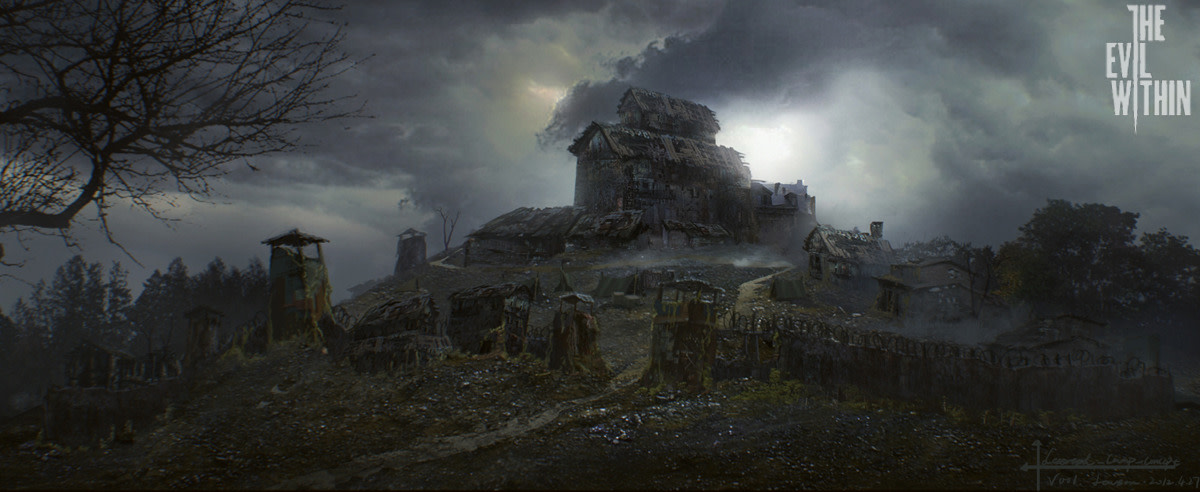 """Concept art from """"The Evil Within."""""""