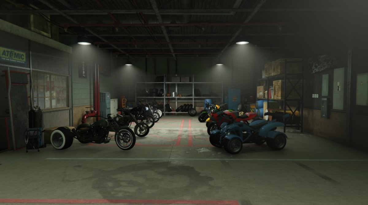 One of the best new features is not only the 10 garage spaces exclusively for Motorcycles, but also the ability to call one anywhere instantly.