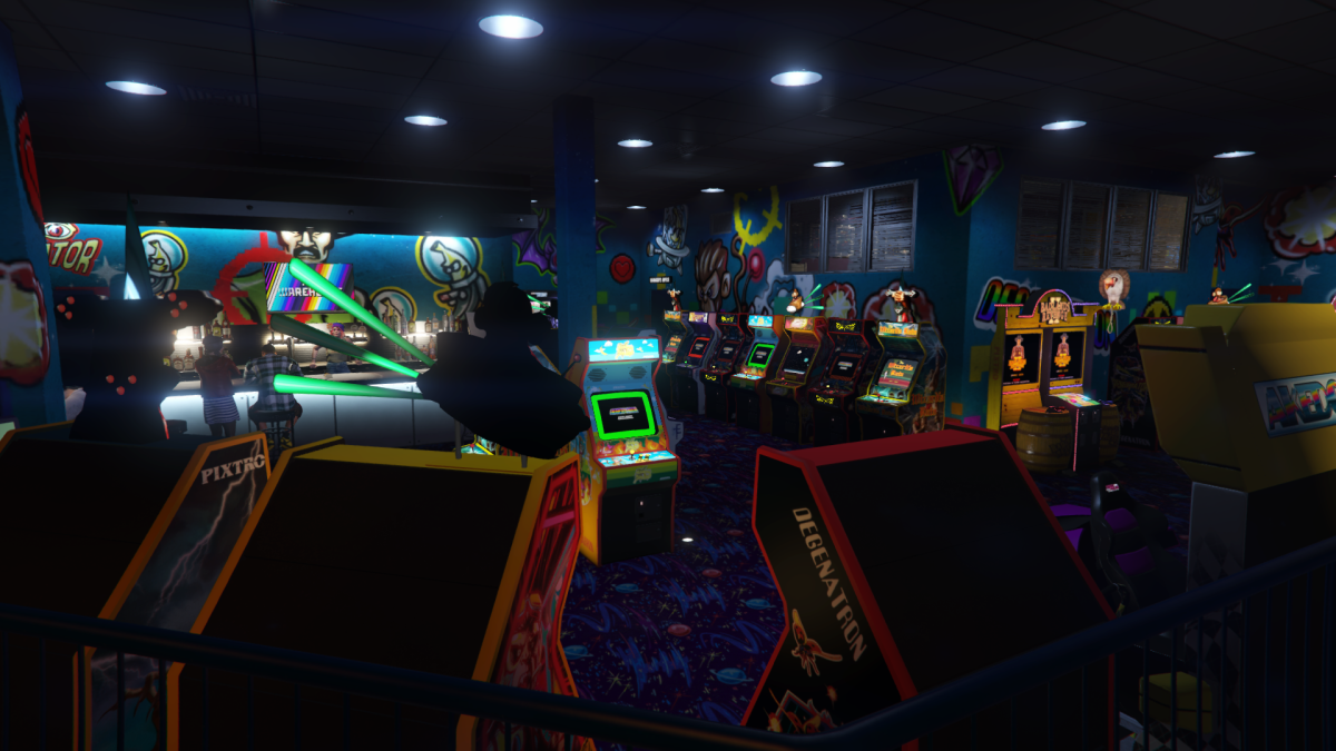 Selection may vary but you get the idea. Just fill every slot. A full Arcade will boost the most daily income.