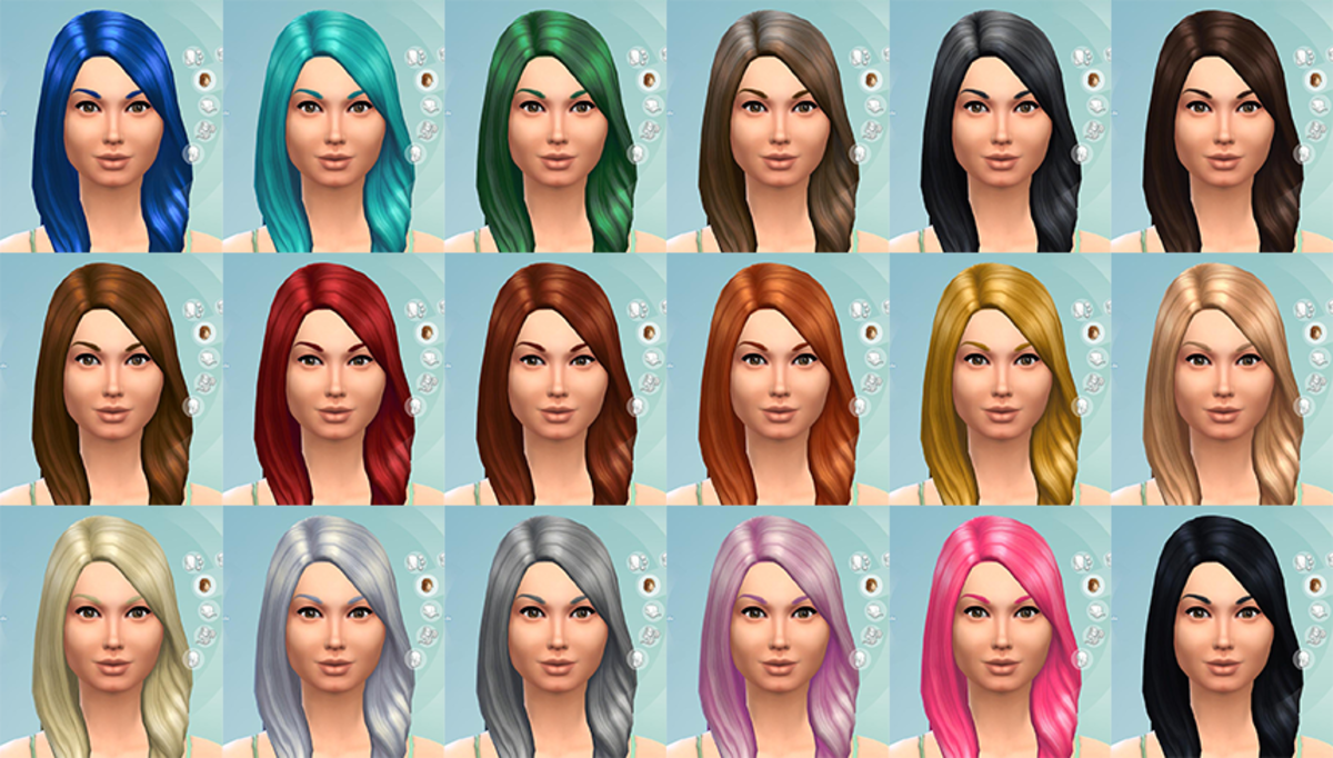 No more highlights and only basic hair colours (with a few fun exceptions like pink and green), from here on out.