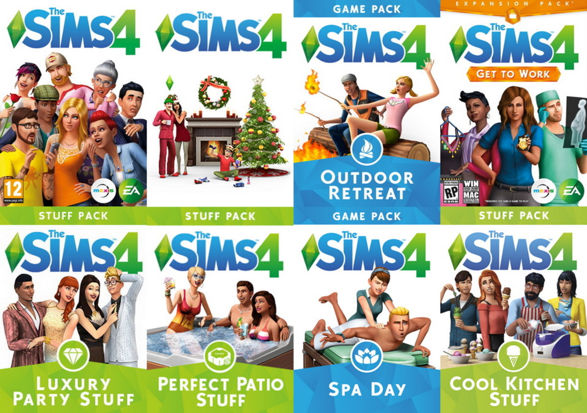 The Sims 4 has had a variety of DLC releases since 2015.