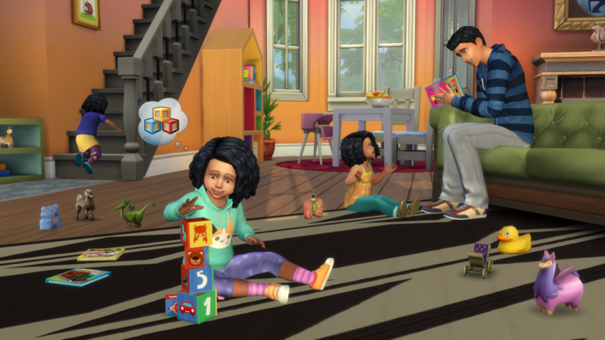We finally have Toddlers in The Sims 4!