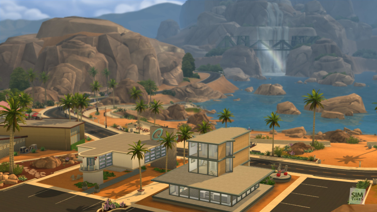 A gorgeous view of Oasis Springs.