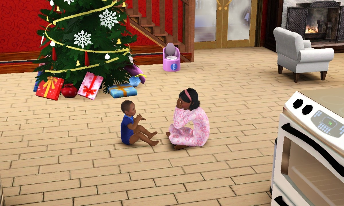 Toddlers (seen in one of my Sims 3 games) are missed in The Sims 4.