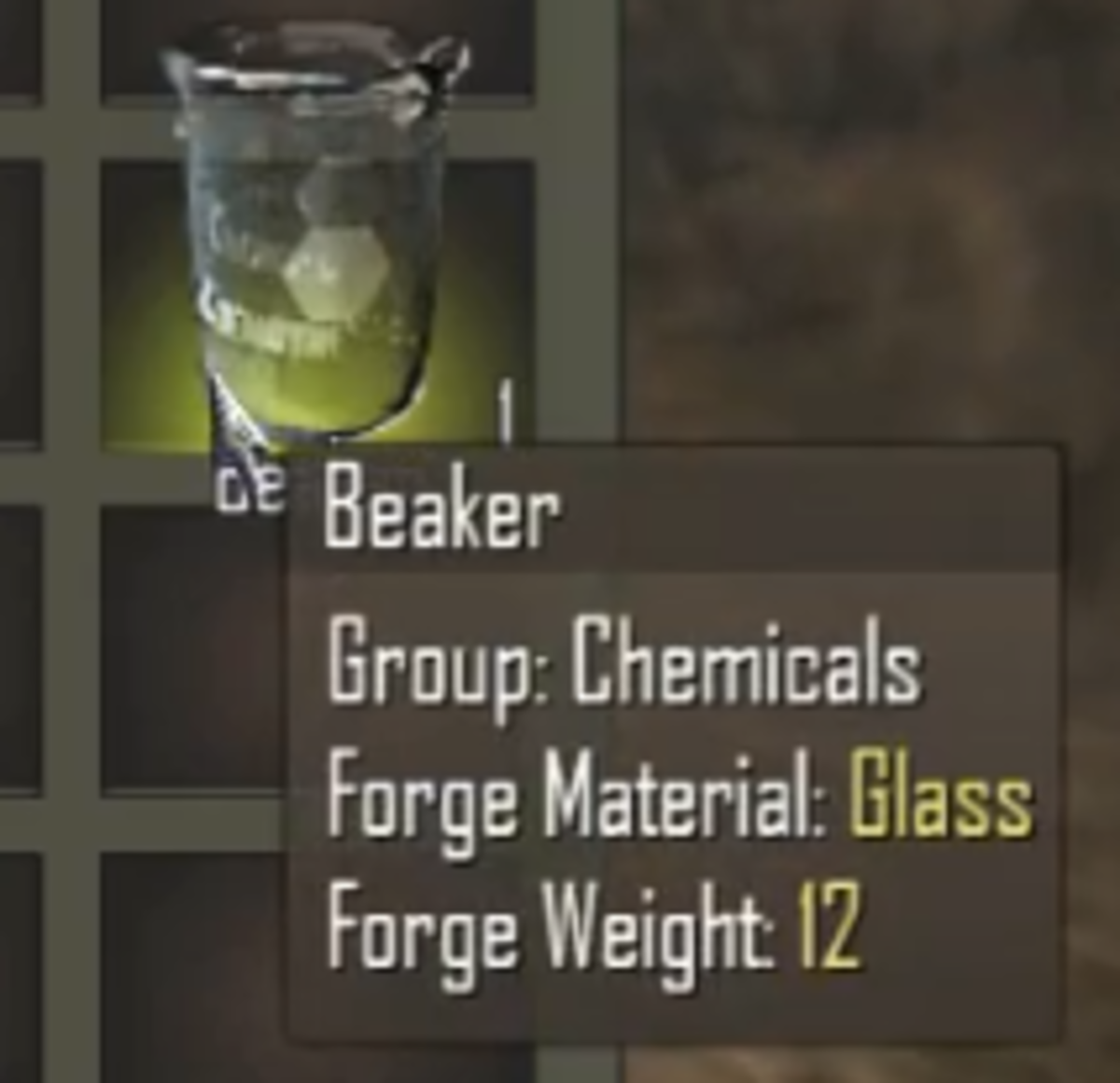 Days To Die Crafting Beaker